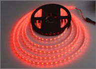 China Hot sale 5M 300Leds waterproof Red Led Strip Light 5050 DC12V 60Leds/M Fiexble Light Led Ribbon Tape Home Decoration factory