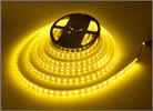 China LED Strip 5050 Yellow DC12V 60LEDs/m 5m/lot Flexible LED Light Architectural decorative lighting factory