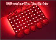China 5050 5 LED Module Light Waterproof  Red pixel modules 12V led light for decoration factory