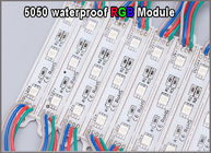 5050 RGB LED light 12V RGB colorchanging modules for outdoor advertisment signage