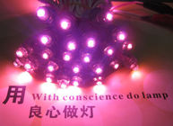 China 9mm 5V Pink led light pixel modules light for signs billboard lighting letters factory