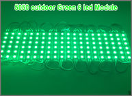 China 5050 6 Light LED module waterproof  6 led for sign letters LED advertising light module DC12V factory
