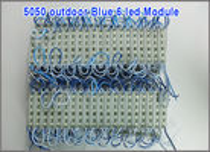 China 12V led channel letters 5050 pixel module 6 led modules blue color factory