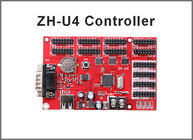 China LED Controller card ZH-U4 for display module USB+RS232 4xhub08 8xhub12 factory