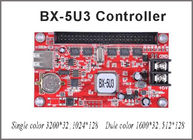 China Led controller card BX-5U3 Onbon control system 128*1024 pixel p10 led screen programmable sign display factory