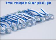 China LED bombilla bulb backlight LED pixel light module for sign 9mm 0.1W RGB IP68 waterproof factory