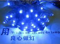 China 9mm Lamparas led 5V Blue LED Light 50pcs/string for Shop Billboard Decoration factory