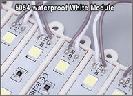 China 5054 monochrome backlit white SMD modules 3 leds 12V waterproof for outdoor signage factory