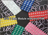 5730 1.5W Injection SMD Led Module with 160degree lenz for Light Box