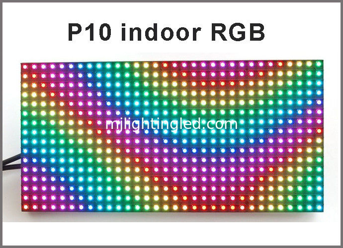 Programmable led screen indoor p10 with SMD RGB color rolling