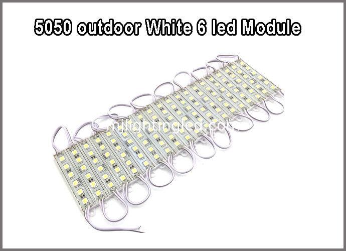5050 white smd module light 6led modules led letter backlight