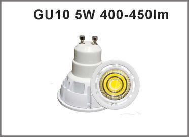 China New high effeciency GU10 LED bulb 5W 400-450lm spotlight led bulbs CRI>80 CE ROHS distributor