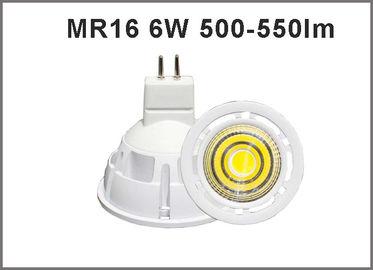 China LED bulbs MR16 6W 400-450lm spotlight led bulbs CRI>80 CE ROHS distributor