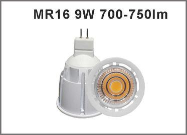 China Good quality MR16 LED  bulbs 9W 700-750lm LED Spot light led CRI>80 spotlighting CE ROHS distributor