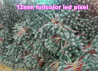 China 5V 12mm RGB led pixel light 1903/6803/8206 led signage outdoor colorchange advertising signs building decoraion distributor