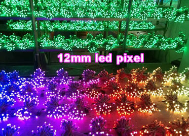 China 5V 12mm colorchangable led dot light 1903/6803/WS2801/WS2802 led signage outdoor decorating signs distributor