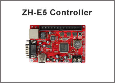 China zhonghang led controller card ZH-E5 256*640 pixel usb/serial/ethernet port p10 led sign led stage screen distributor