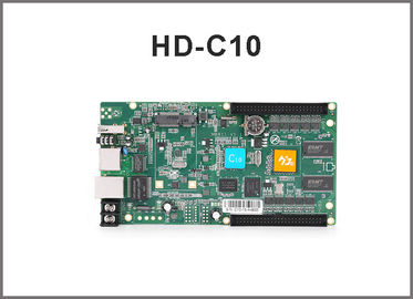 HD-C10 rgb control card/ Asynchronous cascading controller/USB port full color controller