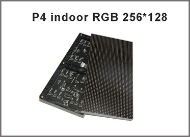 China P4 SMD Full color LED modules 1/16 scan 256*128mm 64*32 pixel 4mm rgb panel,high resolution indoor p4 led video display factory