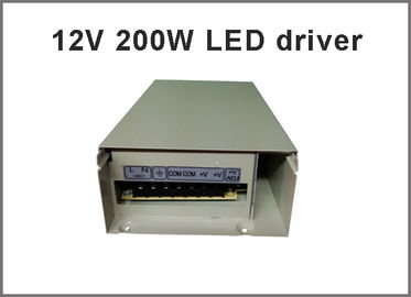China DC 12V 200W Voltage Transformer Switch Power Supply Adapter Driver for Light LED Strip SMD LED module light 12V factory