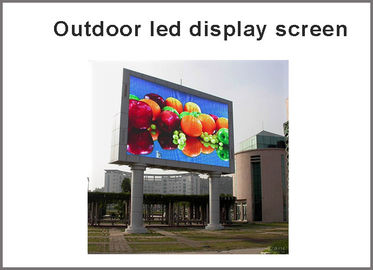 China Outdoor RGB P10 LED display module Full Color panel led display screen led dot matrix distributor