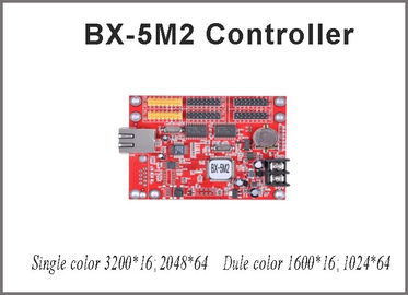 China Onbon BX-5M2 controller card 64*2048 pixel single/dual color control card with usb port with p10 led module for led distributor