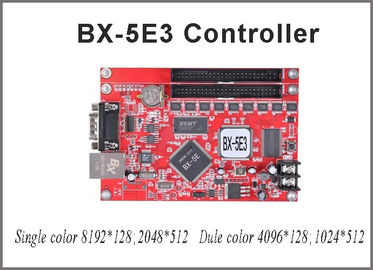 China BX-5E3 led controller card 512*2048 pixel with usb port p10 single red led module for taxi top led sign outdoor led sign factory