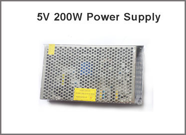 China Led display driver 5V 40A 200W lighting transformers led pixel adapter distributor