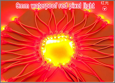China 9mm led dot module light DC5V IP68 led Point Light For outdoor Advertisement 50pcs/ lot Christmas decorating led factory