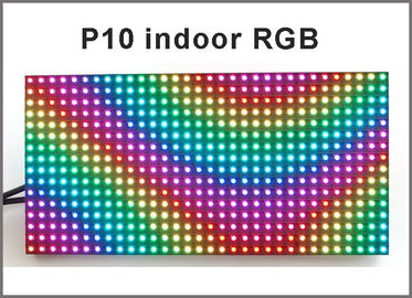 China Programmable led screen indoor p10 with SMD RGB color rolling information led screen display fullcolor display board distributor