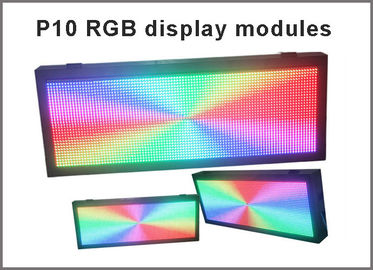China P10 smd modules outdoor full color video led screen or RGB led sign unit module P10 rgb outdoor advertisign factory