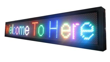 China P10 outdoor rgb led moving sign 32x16Pixel led message sign p10 led display module rgb door sign led screen billboard factory