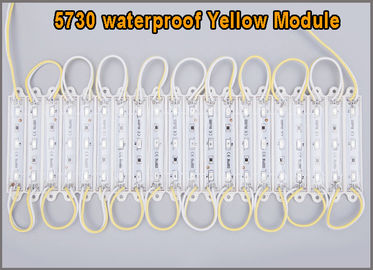 China 20PCS Brightest yellow 5730 3 LED Module Decorative Light for Letter Sign Advertising distributor