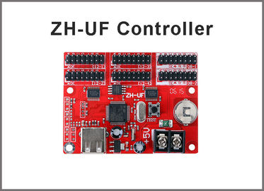 China ZH-UF LED display Controller USB Port LED Display Control Card Single & Dual Color Support for Outdoor Advertising Board distributor