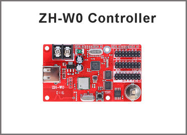 China ZH-W0 wifi led control card 32*1024,16*2048 pixels for P10 led panel text message board screen sign factory