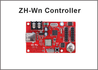China 320*32 Pixels ZH-Wn USB Port LED Control Card  wifi Wireless programming system for LED Advertising Billboard factory