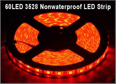 China Super bright DC12V Led Strip 3528 IP20 5m Flexible Ribbon tape light red led string light for indoor decoration distributor