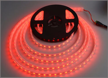China 3528 led strips tube waterproof IP65 60led/m 12VDC white string lamp tape square park decoration distributor