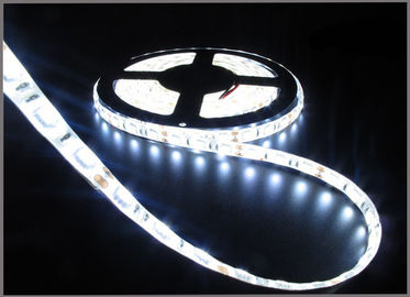 China LED Strip 5050 DC12V LED strip flexible light IP65 waterproof 60 led/m,5m/roll White LED strip 5050 factory