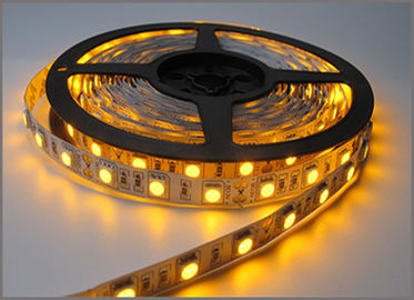 China 5050 SMD led Strip Bar light String holiday Lights 60leds/m DC12V Yellow strips led distributor