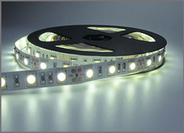 China LED Tape 5050 SMD 600led nonwaterproof 5M DC12V Flexible Led Strip 60Leds/M White decorative string distributor
