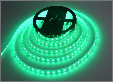 China 5050 led strip channel 60led/m 300led/roll 12V lamp for Christmas lights green color distributor