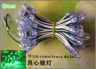 China 9mm LED exposed light string LED pixel module light for sign and channel letter Green Color distributor