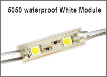 China 5050 2 LED lighting Module for sign DC12V Waterproof superbright smd led modules white color factory