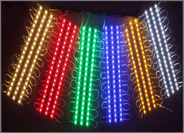 China DC12V SMD 5050 3LEDs LED Modules IP65 Waterproof Light Lamp 5050 White/Red/Green/Blue/RGB High Quality Advertising Light factory