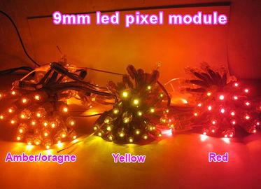 China 9mm 12mm led pixel light 5V /12V waterproof advertising point light for led channel letter building decorations distributor
