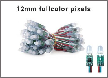 12mm 1903 led pixel streep light fullcolor RGB LED light colorchanging advertising signs