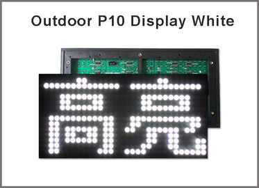 China P10 display panel light Led sign module For Advertising LED Display Board 5V LED display screen white color factory