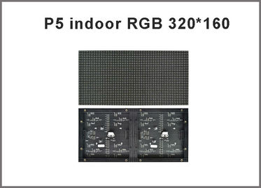 China 320*160mm 64*32pixels P5 RGB display module light 1/16scan HUB75 RGB modules light for indoor screen factory