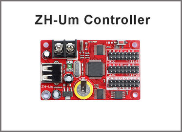 China Hot sell 5V ZH-Um USB port controllers led module control system Multi-area Display Asynchronous factory